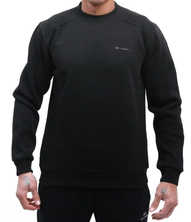 S-LINE БЛУЗА SOLID FLEECE CUFED - 045.52